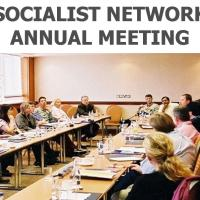 Final Invitation to the Socialist Network Annual Meeting 23-25 October in Athens, Greece
