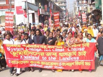 20 January 2010 Barisal Procession-2