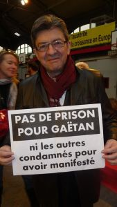 Jean Luc Melenchon, French left wing politician and MEP, is among those supporting the campaign: