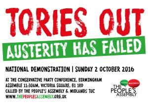 Austerity has failed! @ Victoria Square | Birmingham | England | United Kingdom
