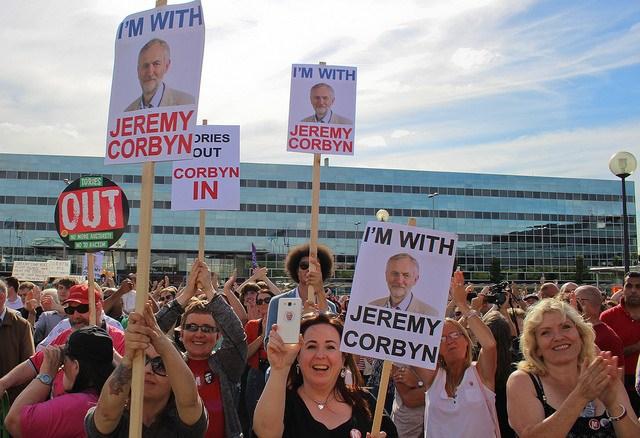 JC for PM rally, Milton Keynes Aug 13 - Photo Steve Eason