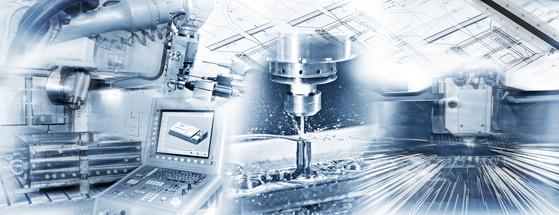 Produktionsschritte in der Industrie