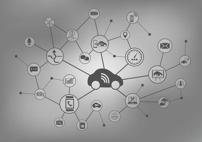 das vernetzte Auto - connected car