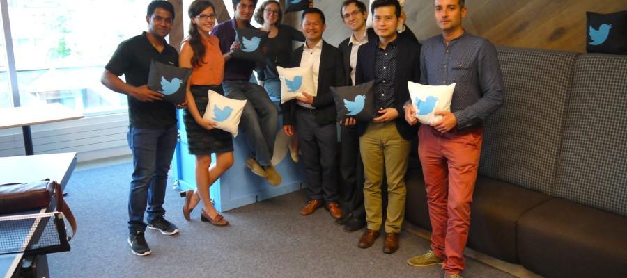 #TRSM #Ryerson Social Media Lab Visits Twitter Canada HQ