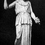 28/04/03 LA COLLEZIONE TORLONIA DI SCULTURE ANTICHE IN FOTOGRAFIE DEL 1884 RIPRESE NEL MUSEO TORLONIA