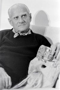 1977-1990. Alberto Moravia nella casa di Roma, al lungotevere della Vittoria
