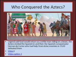 Aztec PowerPoint