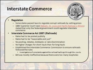 Interstate Commerce Differentiated Instruction PowerPoint