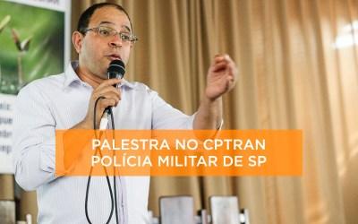 Palestra para o CPTRAN na Polícia Militar de SP