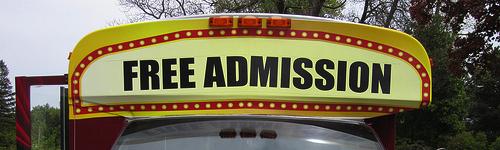Film Industry Marketing free admission