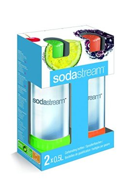 SodaStream 2 x 0,5L PET-Flaschen