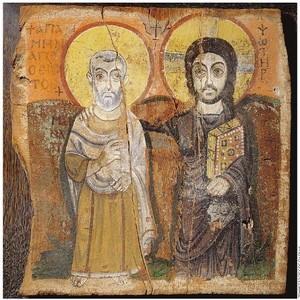 Christ et Abbé Ména