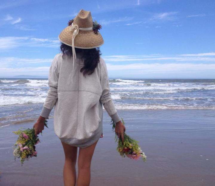 Flowers & Ocean