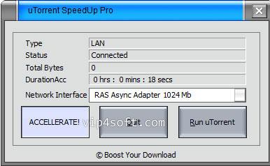 uTorrent SpeedUp PRO