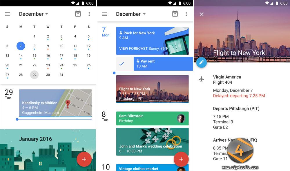 Google Calendar تطبيق تقويم جوجل على الأندرويد