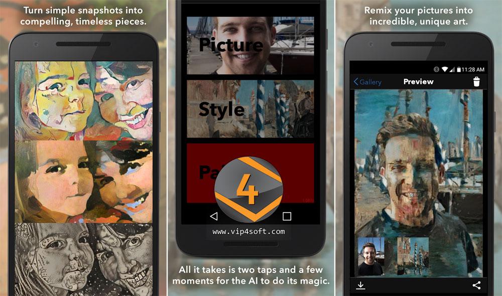 Pikazo تطبيق أندرويد لتحويل صورك إلى لوحات فنية