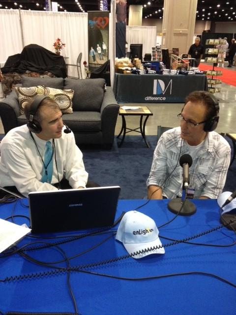 NQC 2012 John Pfeifer with enLighten's Randy Baucom thumbnail