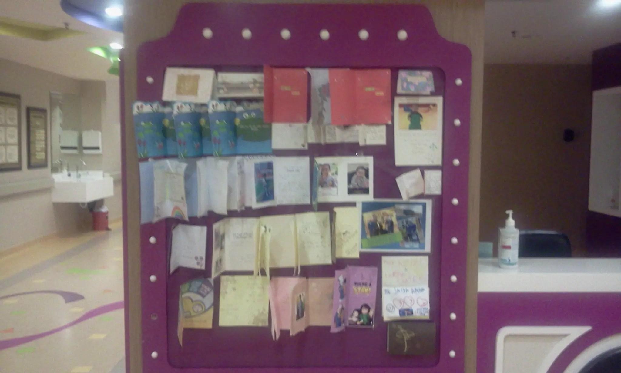 Wad paediatric qaseh terbaik syukur ada medical card for Mural untuk kanak kanak
