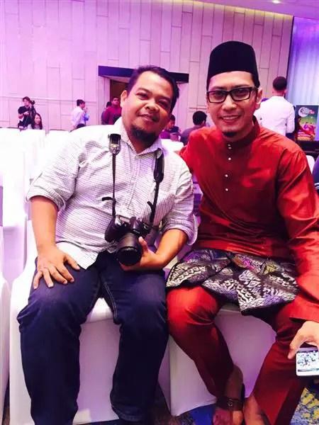 Wak Hoq bersama Wak AG