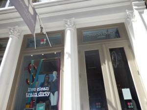 Sweaty Betty Entrance 77 Mercer Street