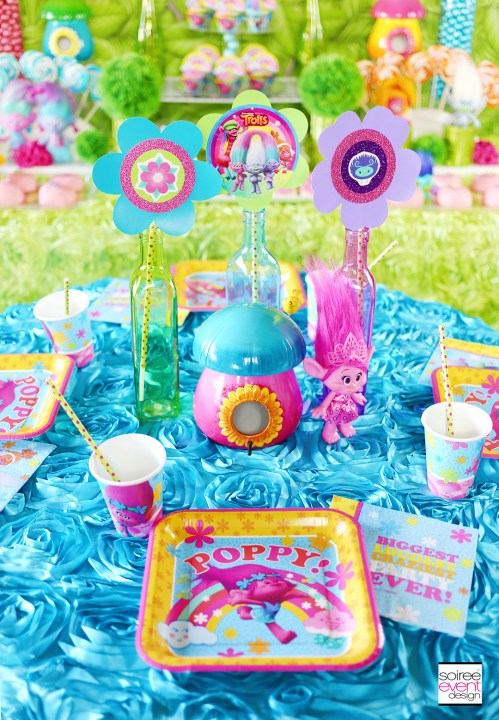 Medium Of Trolls Birthday Party Ideas