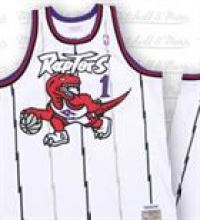 Tracy McGrady Raptors Jersey by Mitchell and Ness