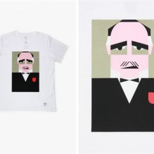 Simple People and Kapok Screen Printed Icons Shirts