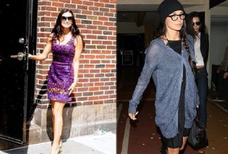 Demi Moore Before and After