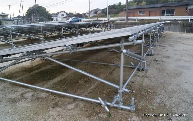 タキゲン製・太陽光発電用架台