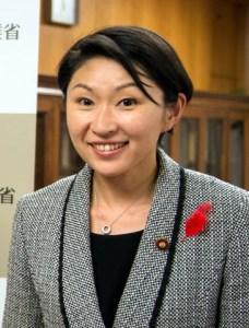 小渕優子 経済産業相