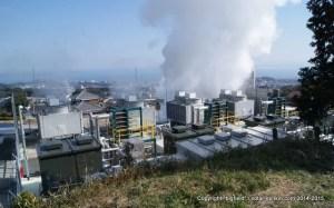 地熱バイナリー発電所
