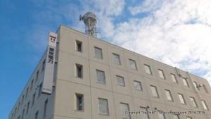 そびえ立つ、東京電力・竜ヶ崎支社