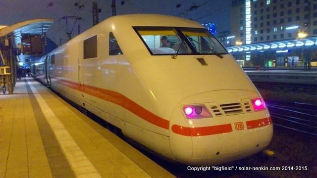 ドイツの高速鉄道「ICE」
