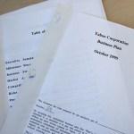 再生可能エネルギー事業計画書・趣意書の事例