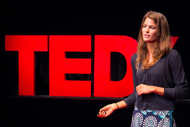 Cameron Russell at TED2012