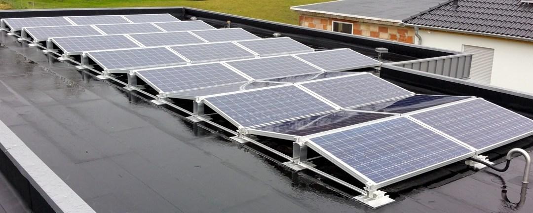 Solaranlage Photovoltaik mit Speichersystem in Weferlingen