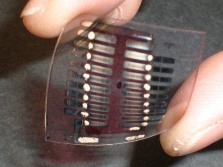 SolarWindow Solar Cell