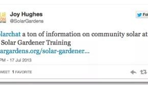 Community Solar Gardens,  Selling  Solar, Crowdfunding Solar  #SolarChat