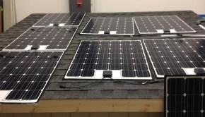 Fraunhofer-solar-panel