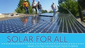 Solar For All residential solar guide