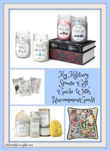 My Military Spouse Gift Guide With UncommonGoods