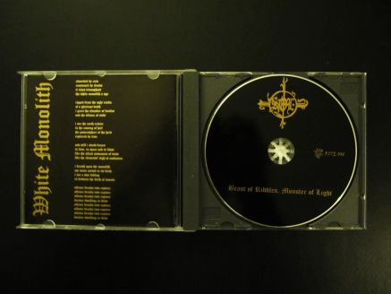 SOL beast of riddles monsters of light cd inside