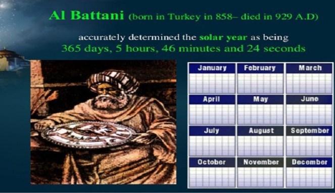 Al Battani Ilmuwan Islam Ahli Astronomi dan Matematika