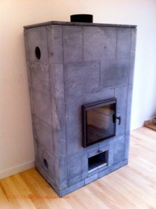 Tulikivi Soapstone Masonry Heater 2200
