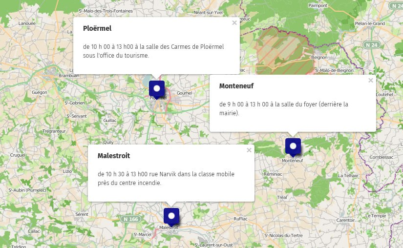 Plusieurs collectes ce 31 décembre sur le pays de Ploërmel