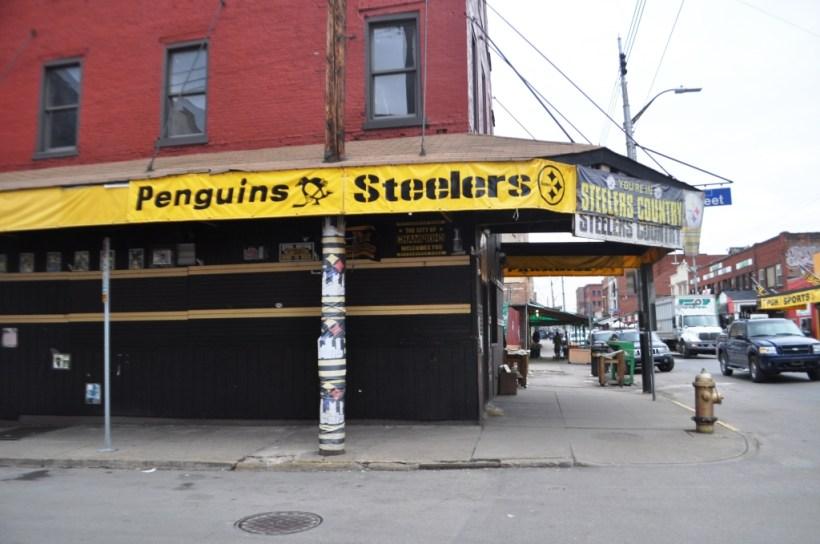 Got Fanwear? Pittsburgh's Strip District, Feb. 2015