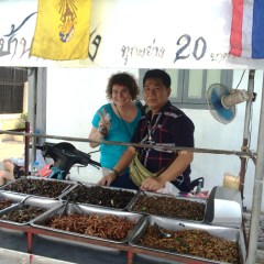 Eating in Thailand: Beetles, Crickets and Grasshoppers. Yum!