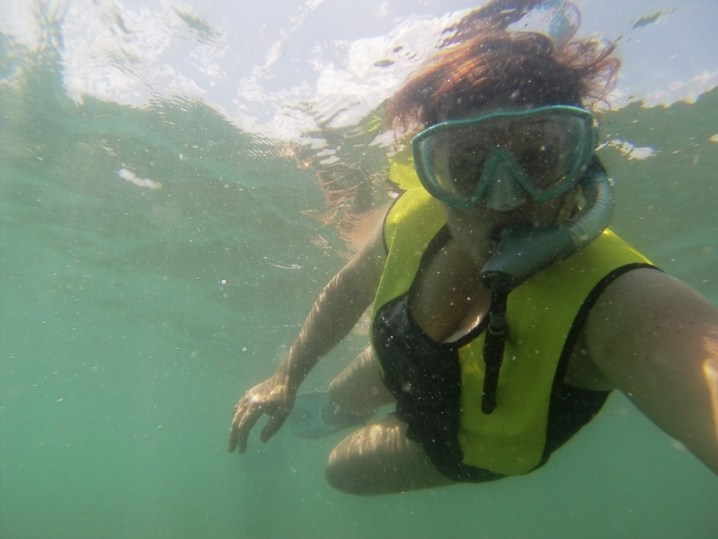 Snorkeling Gasparilla Sound, Fla., May 19, 2015