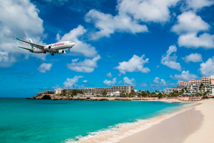 Watch Planes Land from the Comfort of St. Maarten's Maho Beach While Staying at Alegria, an Ascend Hotel Collection Member in Beacon Hill.