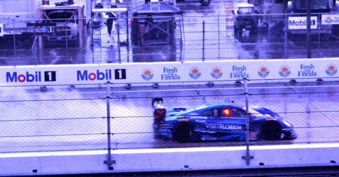 VISIT FLORIDA #90 at the 12 Hours of Sebring, March 2016.